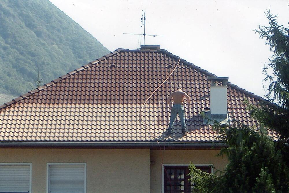Traitement toiture maison à Crolles (38 Isère)