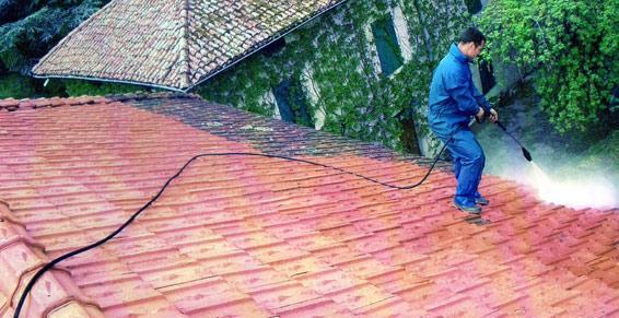 Démoussage de la toiture à Aix-Les-Bains