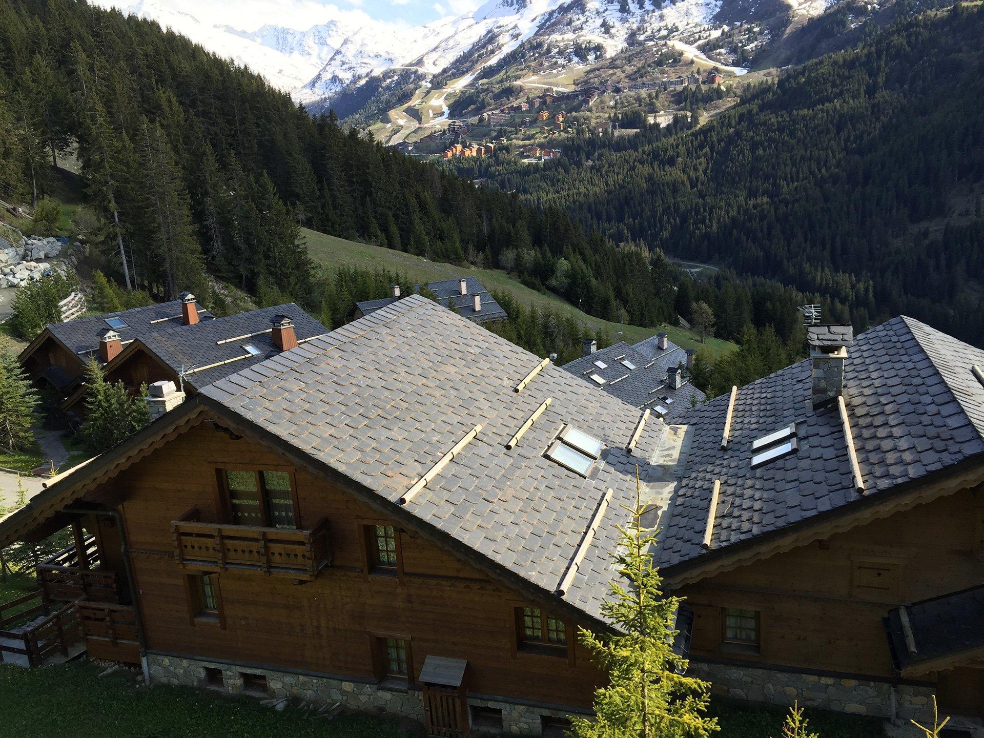Toiture de chalet bois à Chambéry (73 Savoie)
