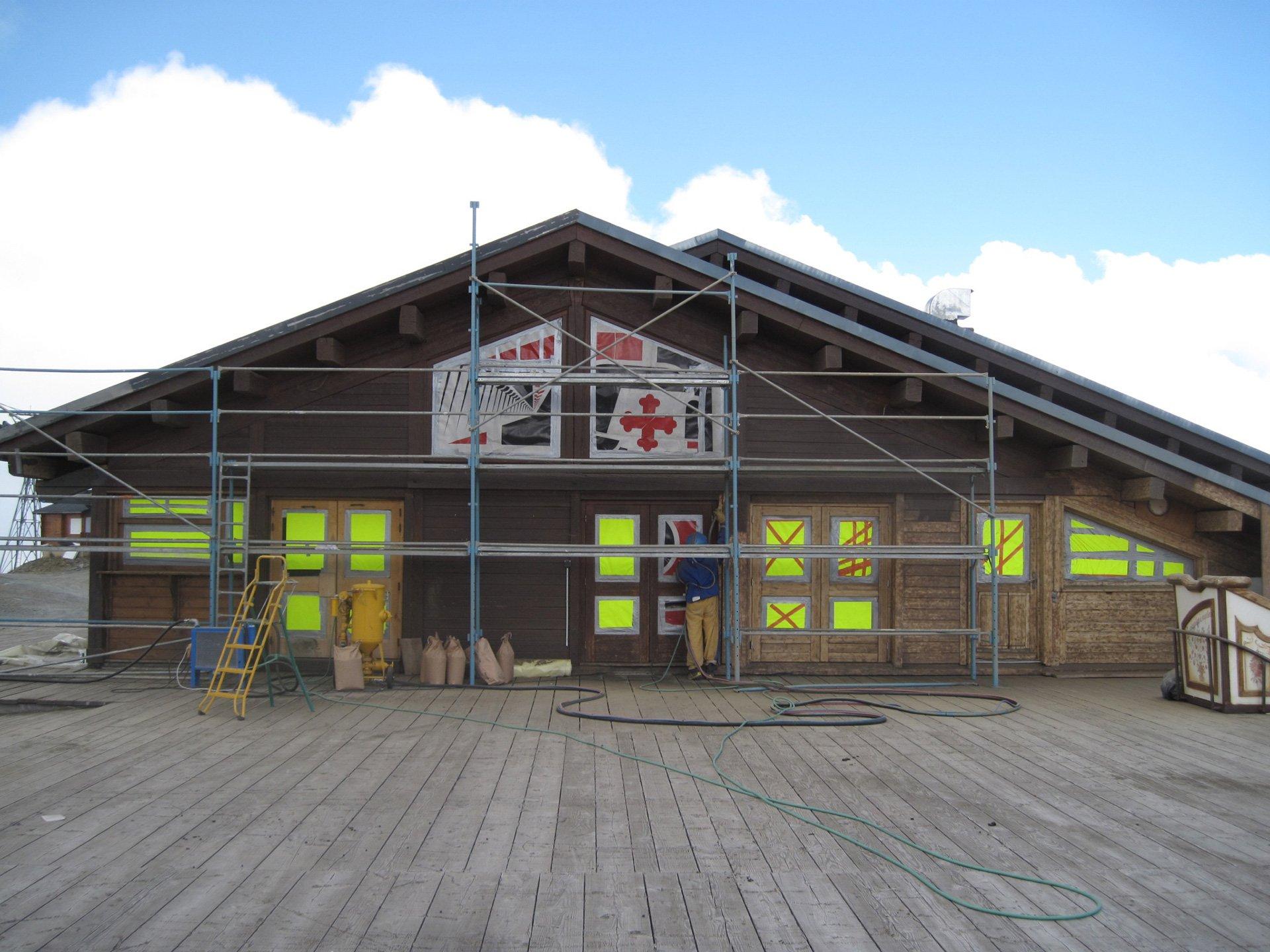 Nettoyage façade de maison à Annemasse (Savoie 73)
